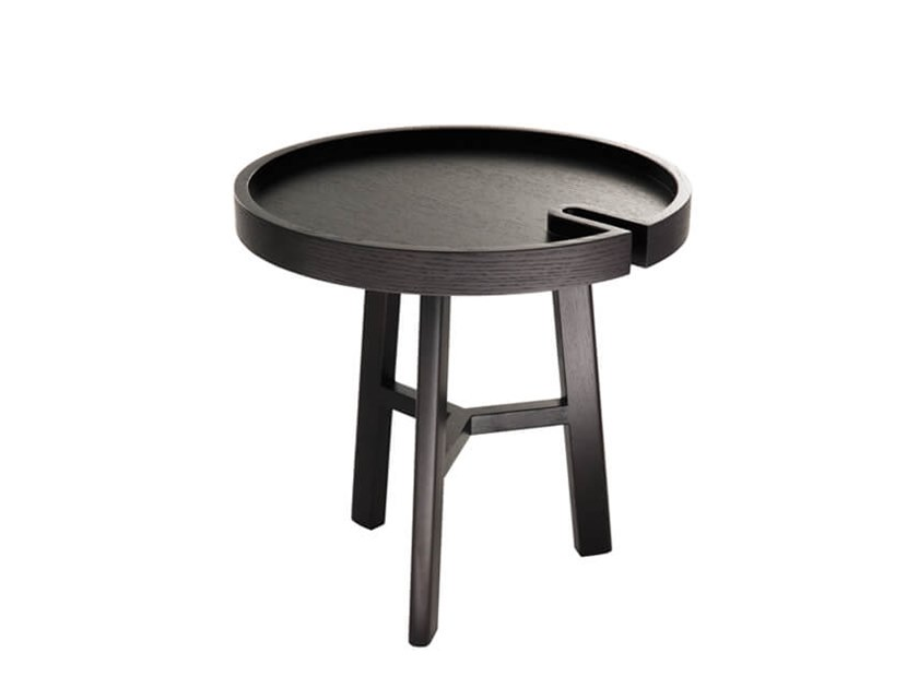 Round side table with tray TRIO by HC28
