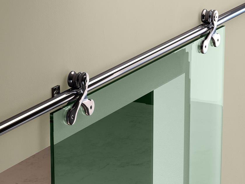 Binario in metallo per porta scorrevole TRIO By GAROFOLI