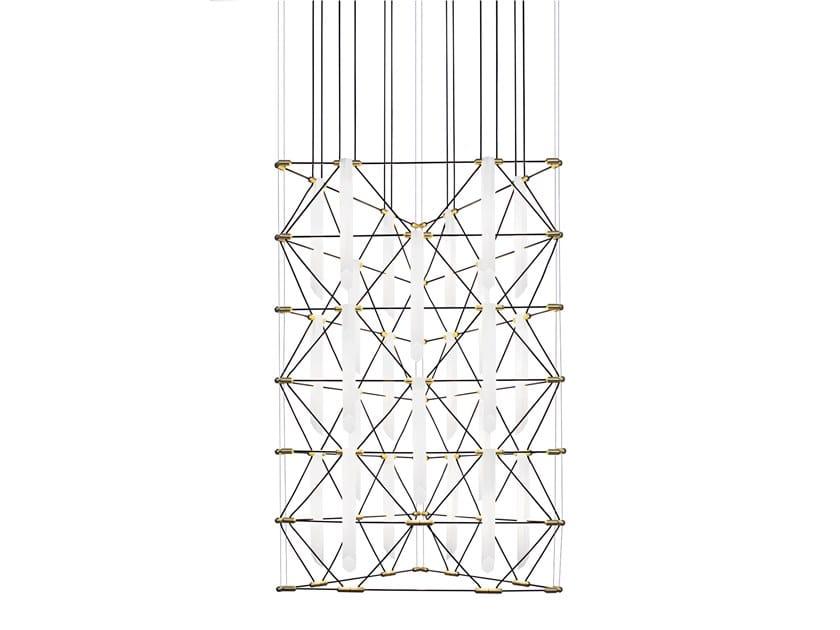 LED chandelier TRIO MOZAIK by designheure