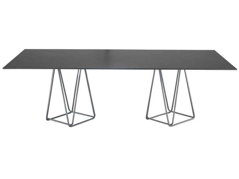 Rectangular table TRIO by Papatya