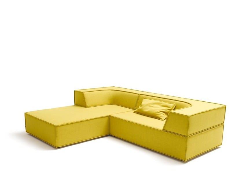 TRIO | Sofa with chaise longue
