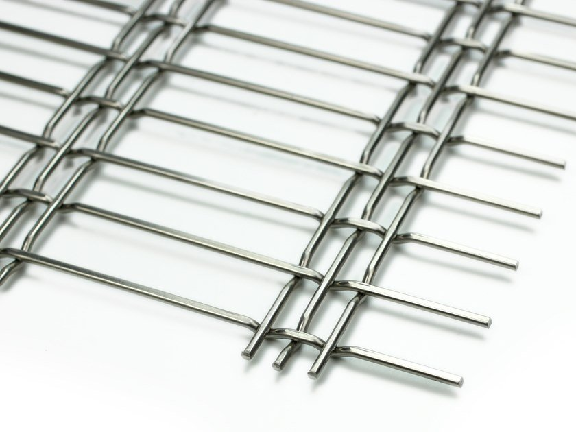 Stainless steel Metal fabric and mesh TRIPLE 75 by MeshArt™