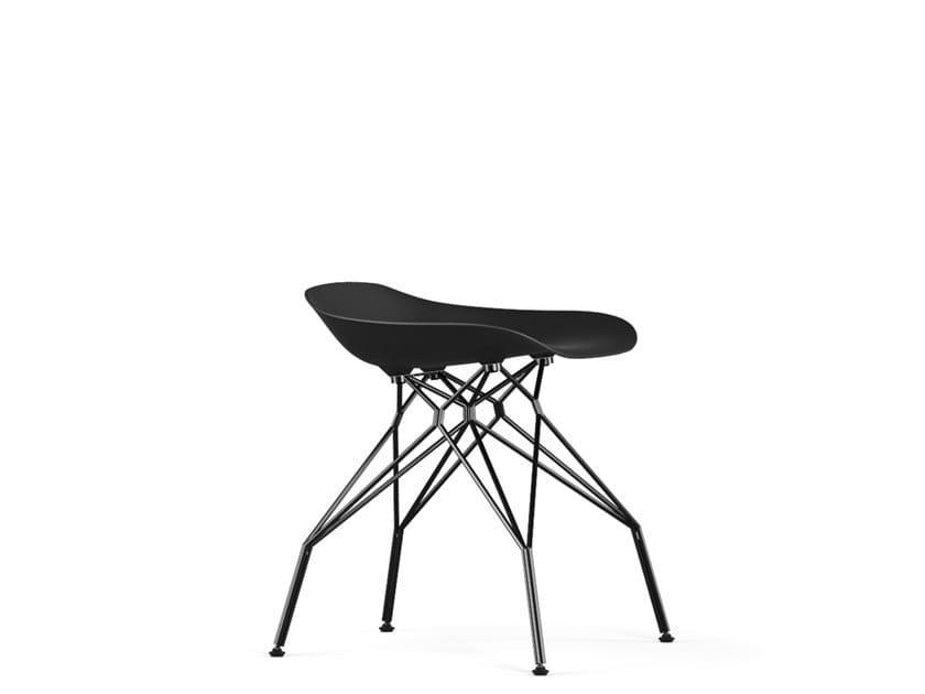 Polypropylene stool TRIPLE V9 | Stool by KUBIKOFF