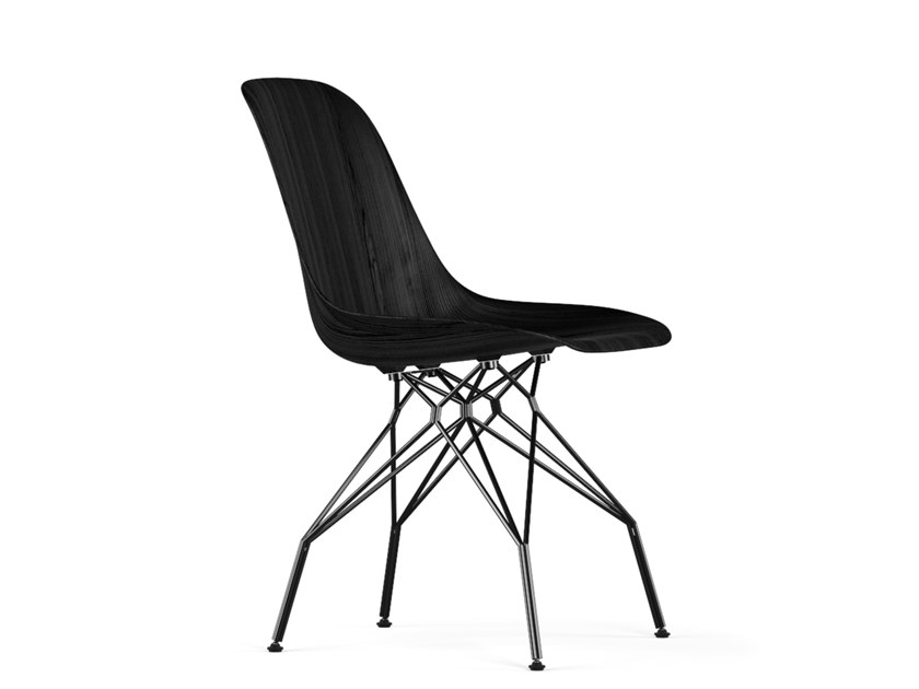 Wooden chair TRIPLE V9 | Wooden chair by KUBIKOFF