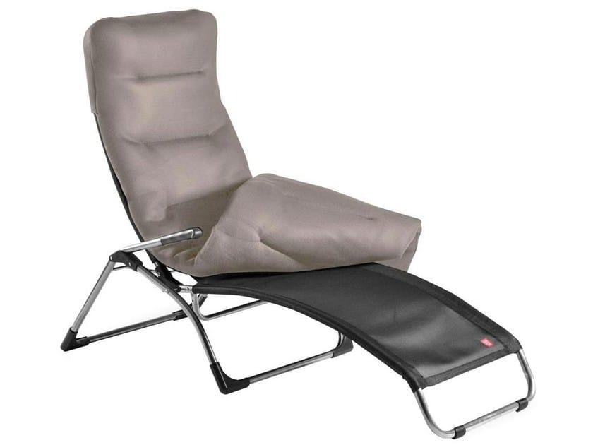 Outdoor polyester cushion TRIPLEX by FIAM