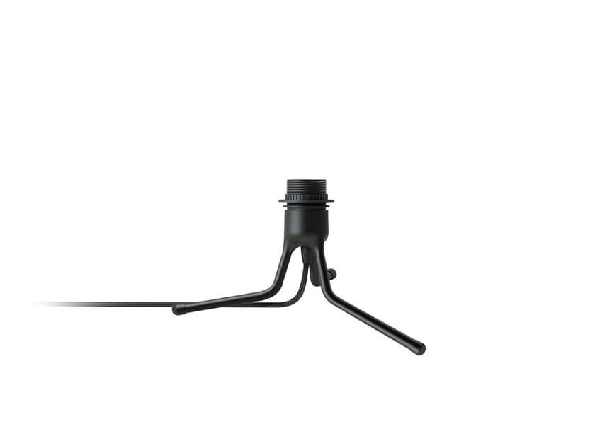 Aluminium lamp holder TRIPOD BASE by Umage