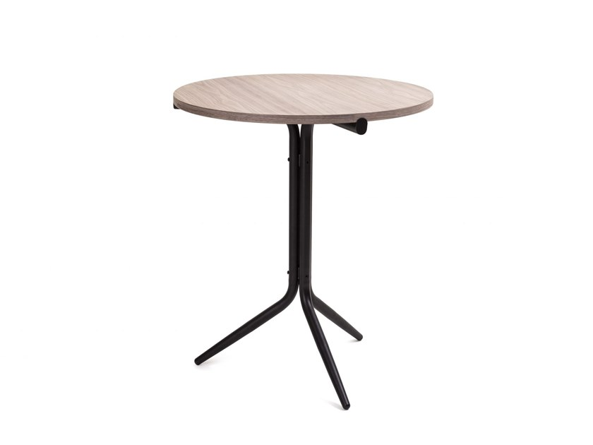 Round high side table TRIPOD | High side table by STELLAR WORKS