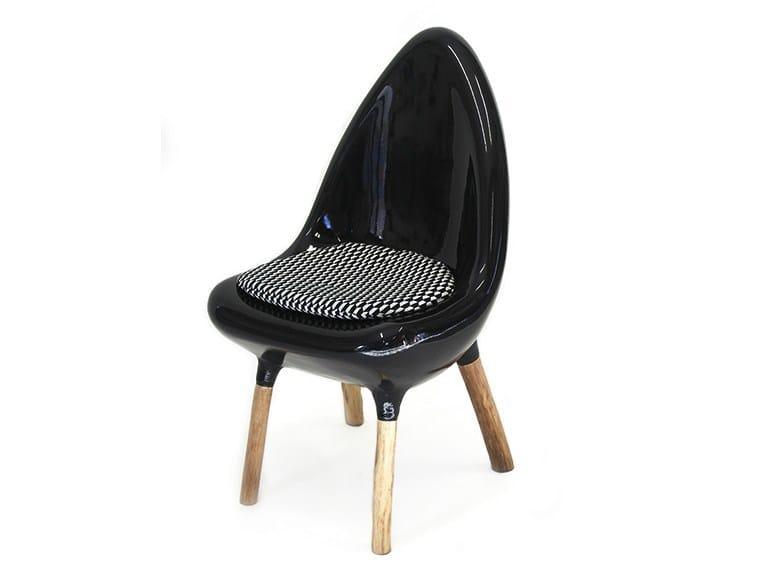 Resin chair TRIPODE | Chair by Binome