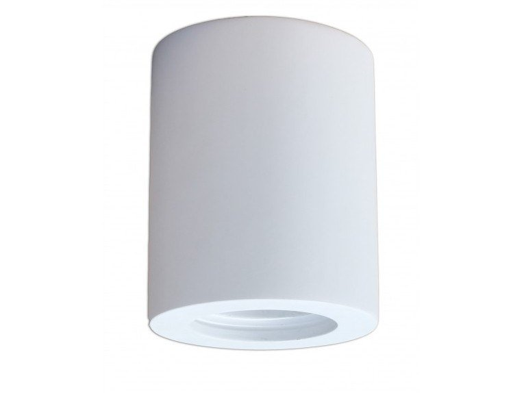 Plaster ceiling light TRONNIX by GESSO
