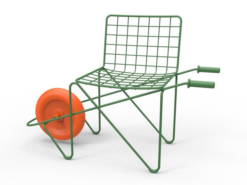Steel kids chair TROTTER by Magis
