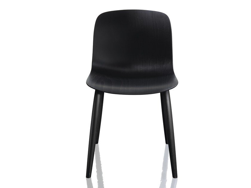 Chair TROY | Multi-layer wood chair by Magis