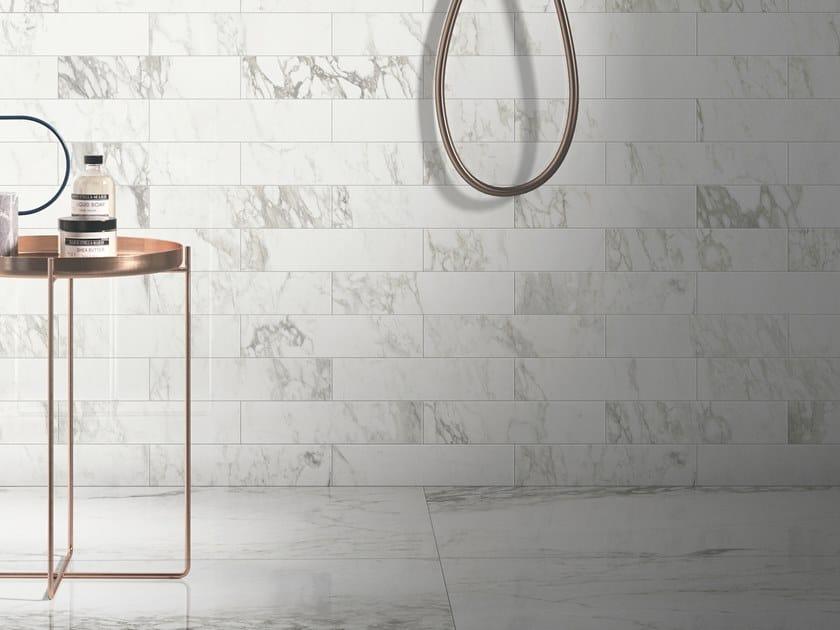 Pavimento/rivestimento in gres porcellanato effetto marmo TRUMARMI ARABESCATO by CERAMICA SANT'AGOSTINO