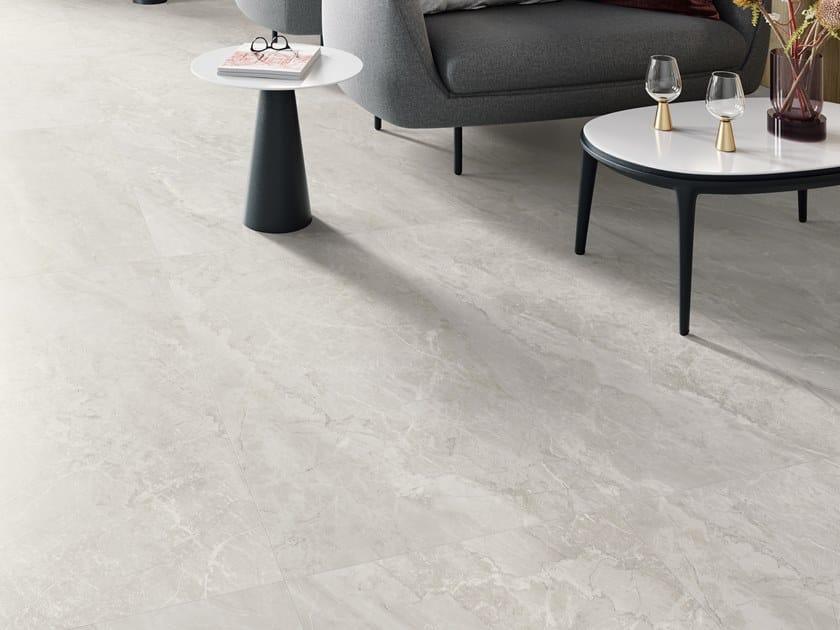 Pavimento/rivestimento in gres porcellanato effetto marmo TRUMARMI SILVER by CERAMICA SANT'AGOSTINO