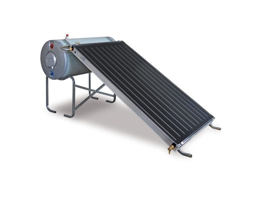 Natural circulation Solar heating system TSOL CN S BLU by THERMITAL