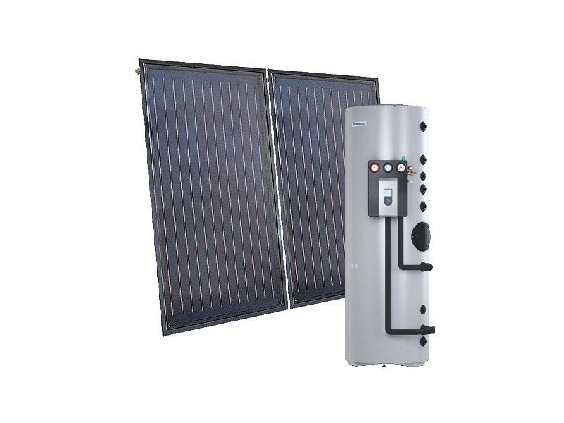 Forced circulation Solar heating system TSOL LIGHT S by THERMITAL