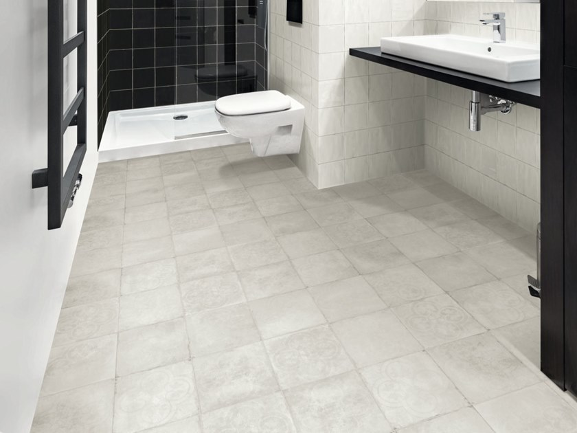 Porcelain stoneware flooring TSQUARE FLOOR by Sartoria