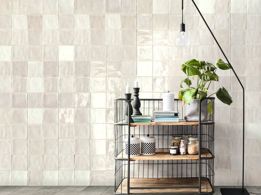 Indoor ceramic wall tiles TSQUARE WALL by Sartoria