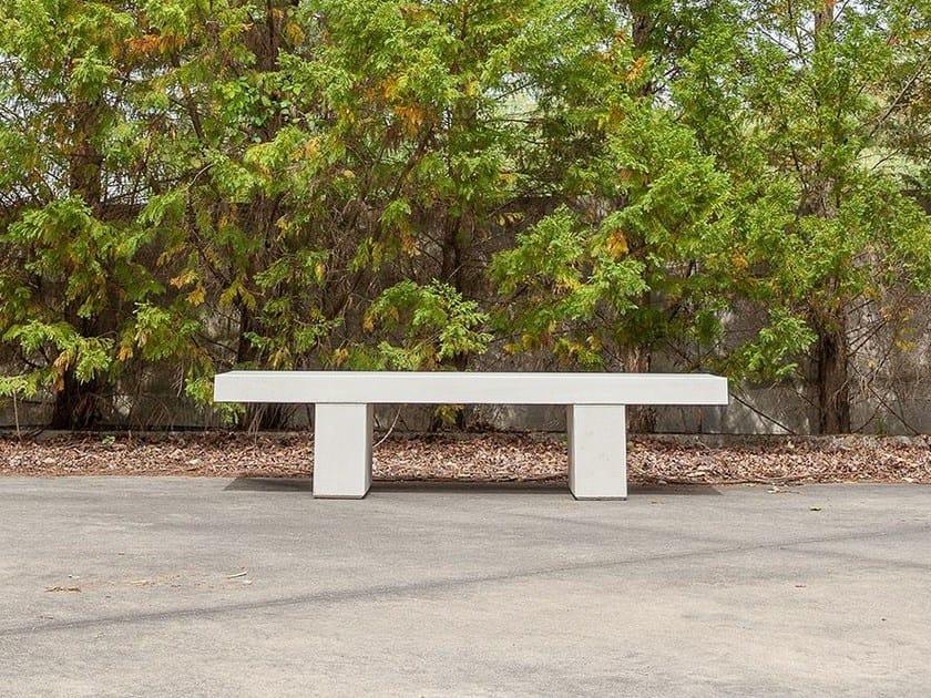 Backless concrete Bench TT   Concrete Bench by SIT