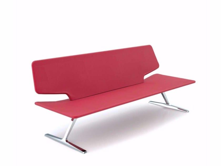3 seater sofa TT3 LOW - 647 by Alias