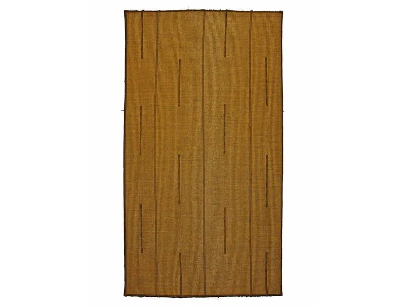 Rectangular wooden mat TUAREG ST035TU by AFOLKI