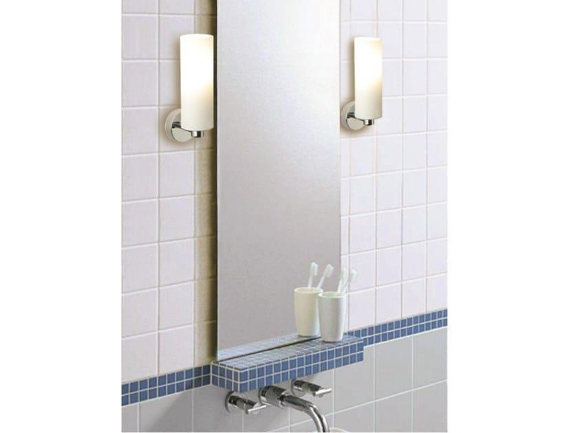 Satin glass wall light TUBE by Top Light