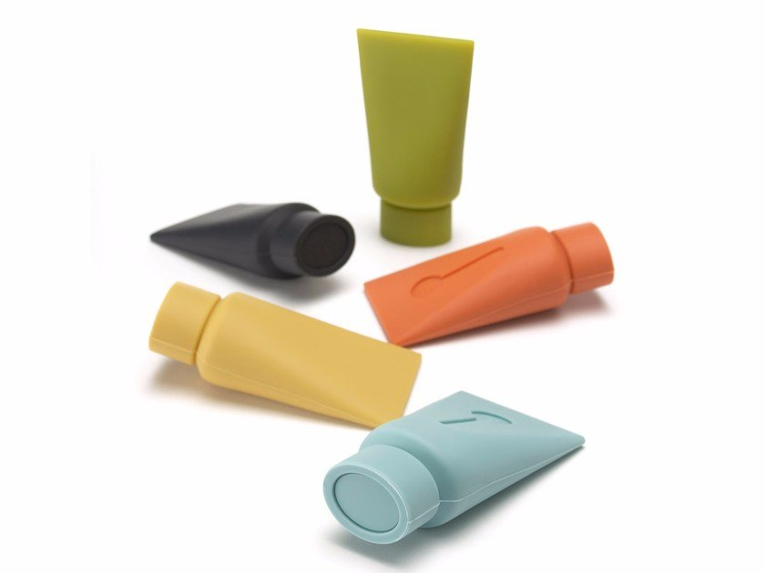 Silicone doorstop TUBE by Plus D