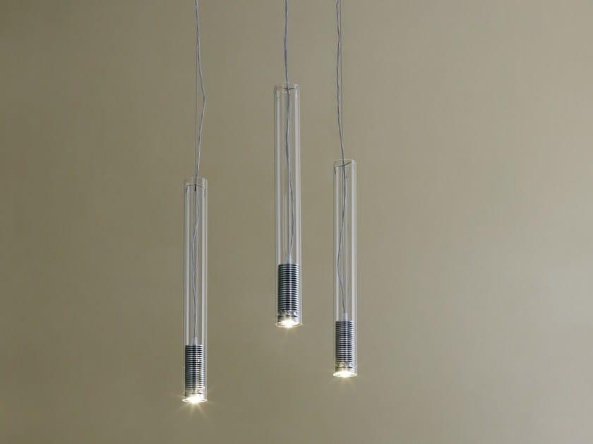 Lampada Tubolare Led : Lampada a sospensione a led tubo led by fontanaarte