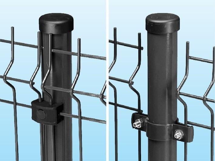 Modular metal Fence TUBOLARIO by Ferro Bulloni