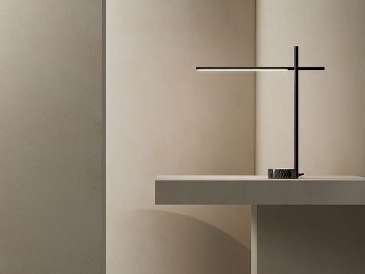 LED metal desk lamp TUBS | Table lamp by Grok