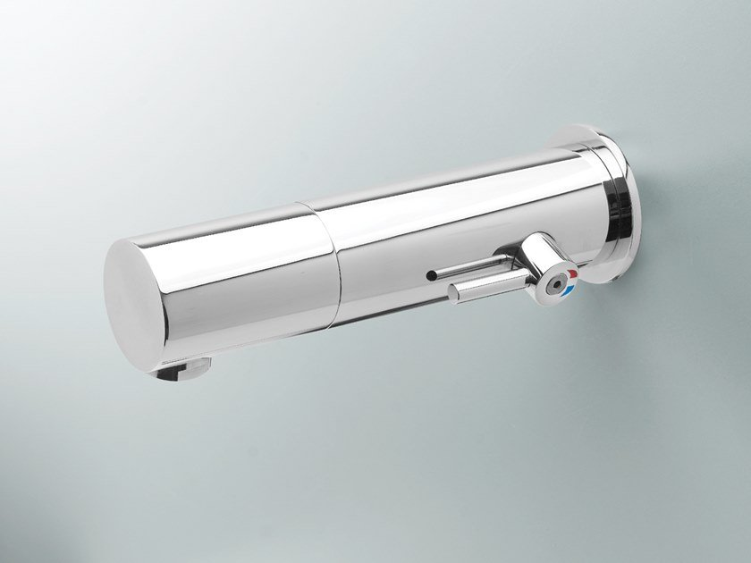 Infrared Electronic self-closing Tap for public WC TUBULAR 1000 BOX by Stern