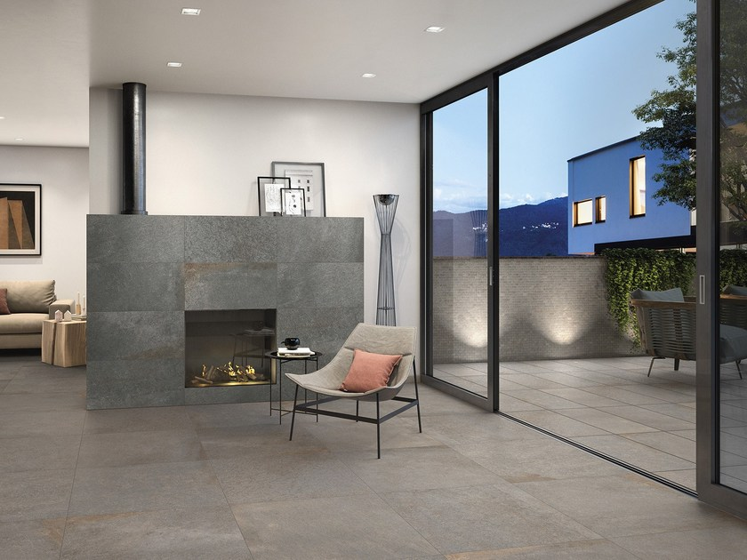 Indoor/outdoor porcelain stoneware flooring TUCSON By Villeroy ...