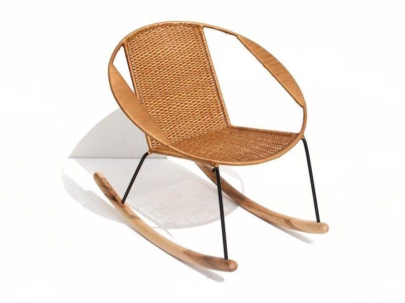 Astounding Tucurinca Rattan Rocking Easy Chair By Tucurinca Beatyapartments Chair Design Images Beatyapartmentscom