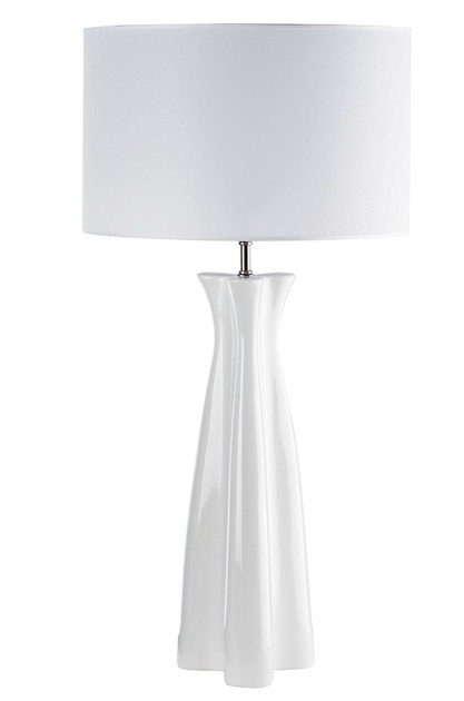 Contemporary style ceramic table lamp TULIP by ENVY