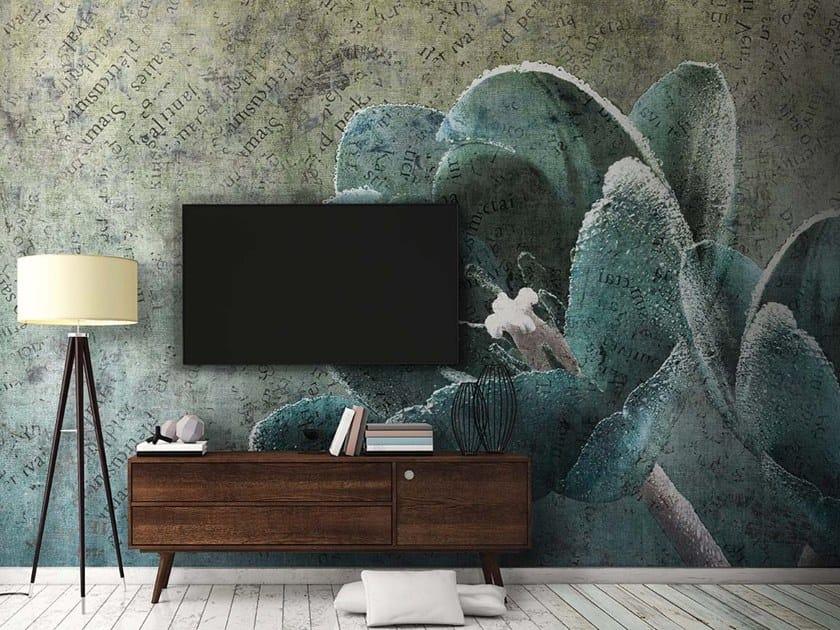 Vinyl or fyber glass wallpaper TULIP by N.O.W. Edizioni