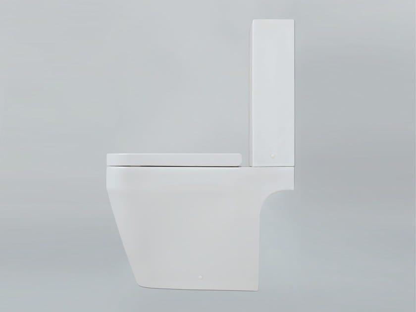 Close coupled ceramic toilet TULIP ONE | Close coupled toilet by AZZURRA sanitari