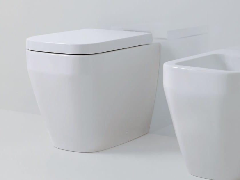Ceramic toilet TULIP ONE | Toilet by AZZURRA sanitari