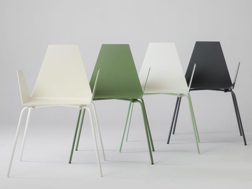 Sedie Alluminio Design.Tulipa Sedia In Alluminio