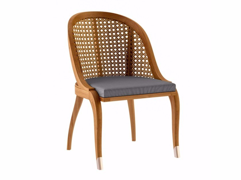 Teak garden chair TULIPE | Garden chair by ASTELLO