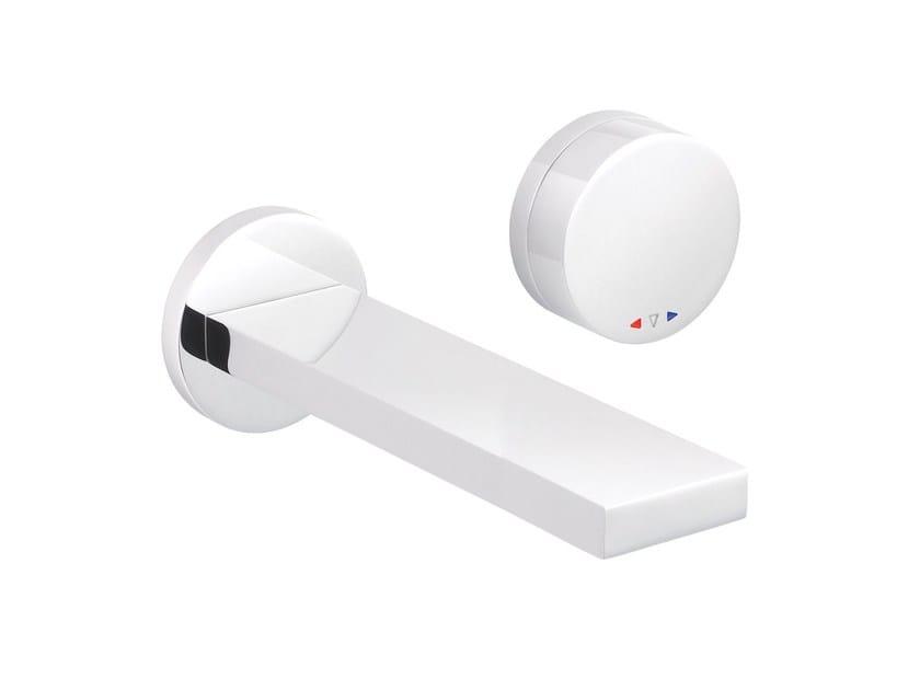 2 hole wall-mounted washbasin mixer TUNE | Wall-mounted washbasin mixer by rvb