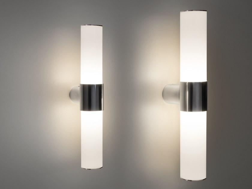 Methacrylate wall lamp TUPLA by Quadrifoglio