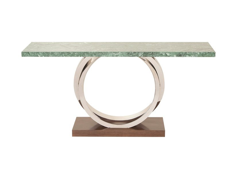 Rectangular marble console table TURIM | Marble console table by Green Apple