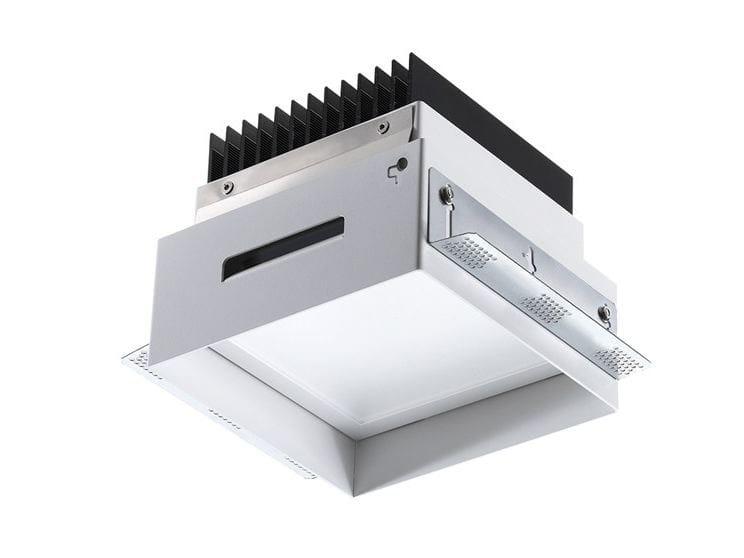 Faretto a LED quadrato da incasso Turis 6.0 by L&L Luce&Light