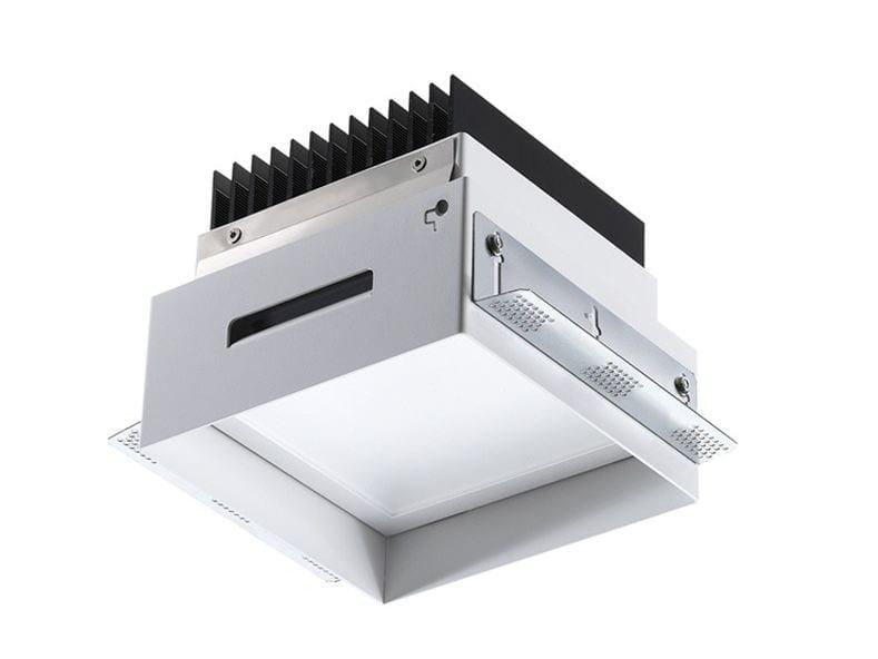LED square recessed spotlight Turis 8.0 by L&L Luce&Light