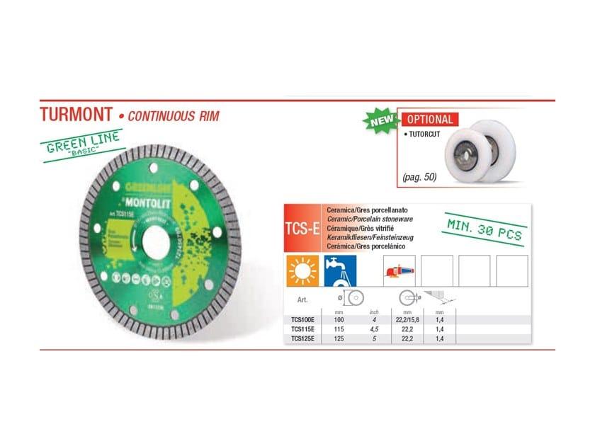 Discs TURMONT - Green Line by BREVETTI MONTOLIT