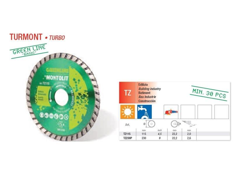 Discs TURMONT TURBO - Green Line by BREVETTI MONTOLIT