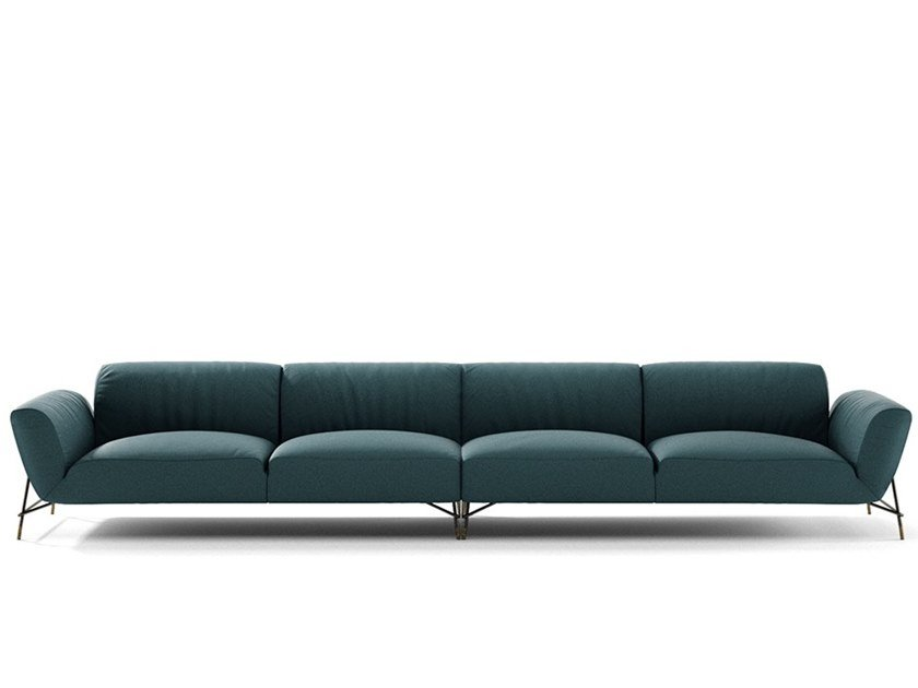 Sectional fabric sofa TURRO by NICOLINE
