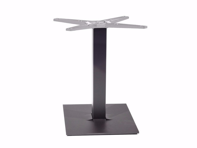 Powder coated steel table base TUXEDO | Table base by Varaschin