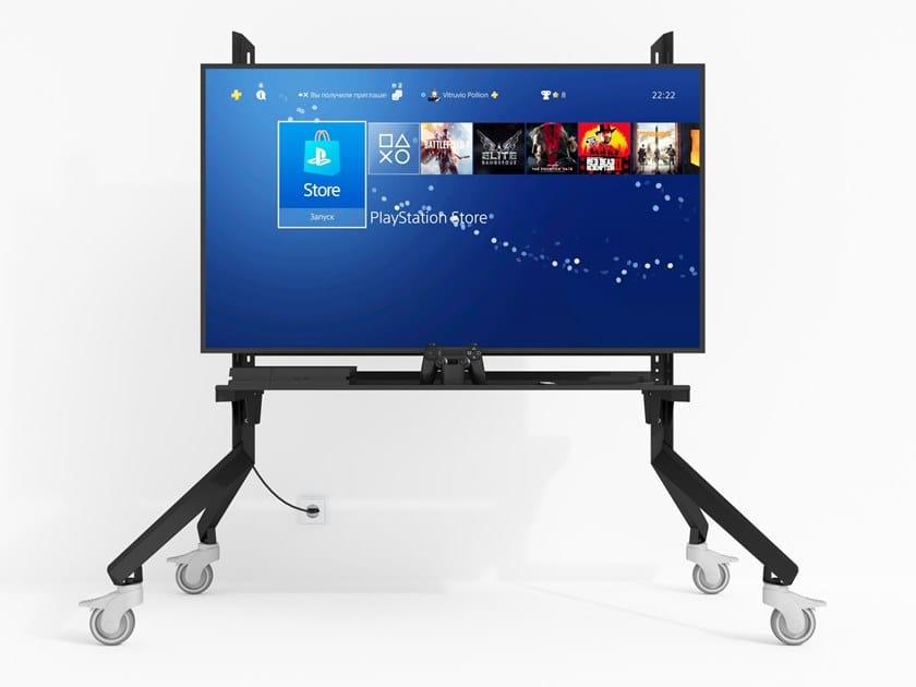 Supporto per monitor/TV girevole in acciaio a pavimento TVX by ODESD2