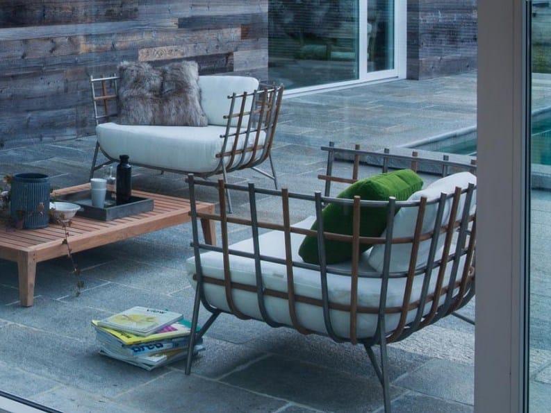 TWEED | Fauteuil de jardin Collection Tweed By Unopiù design ...