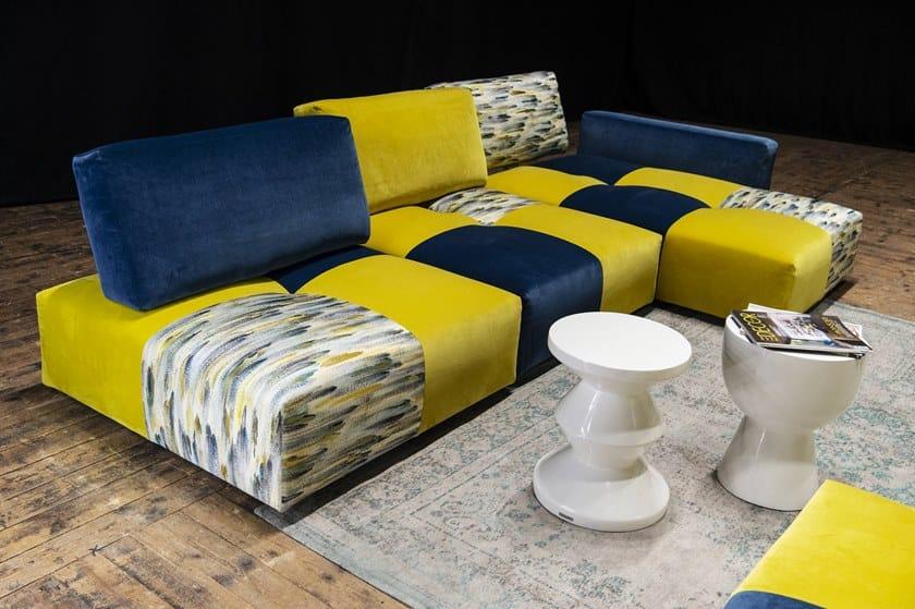 TWEET | Divano con chaise longue